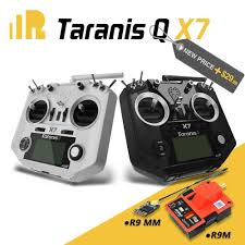 FrSky 2.4G ACCST Taranis Q X7 <b>Black</b> with R9M and R9 MM Combo - SNHE