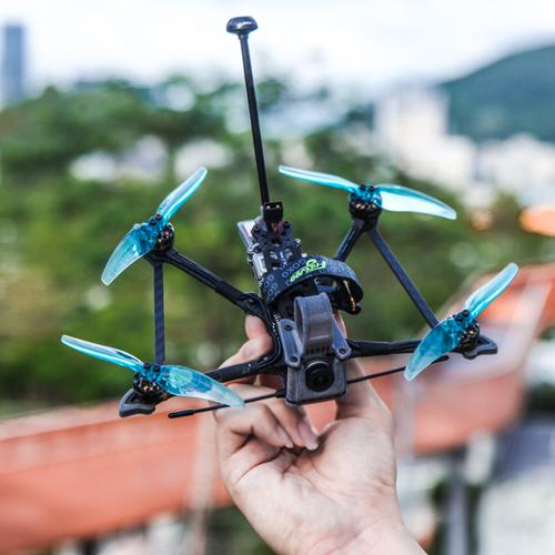 "Flywoo Explorer LR <b>HD</b> 4'' Micro Long Range FPV Ultralight Quad w/ Caddx Vista HD System - <b>BNF TBS</b> <font color=""red""><b>DISCONTINUED</b></font>"