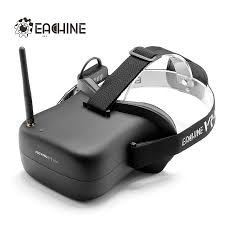 Eachine <b>VR-007</b> Pro VR007 Pro 5.8G 40CH HD FPV Goggles 4.3 Inch Video Headset With 3.7V 1600mAh Battery - SNHE