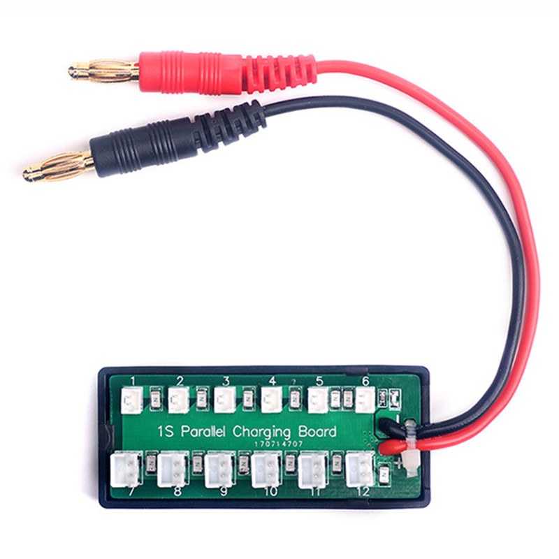 1S 3.7V Lipo Battery Parallel Charging Board For IMAX B6 Charger - SNHE
