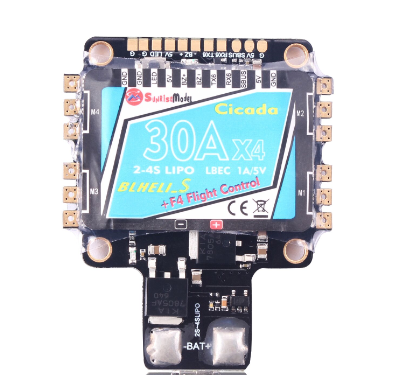 Sunrise Cicada All-in-One 30A ESC & Flight Controller BLHeli_S ESC BB2 + OSD - <font color=red>DISCONTINUED</font>