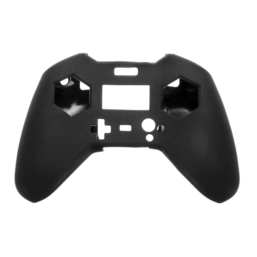Realacc Transmitter Silicone Protective Case Cover for FrSky Taranis X-LITE - <b>Black</b>