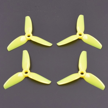"HQ Durable PC Prop <b>3X3X3:</b> <font color=""yellow""><b>Yellow</b></font> (2CW+2CCW)"