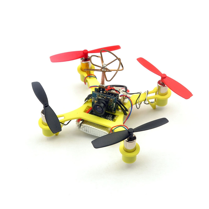 Eachine Tiny QX90C 90mm Micro FPV Racing Quadcopter Based On F3 EVO Brushed Flight Controller BNF - <b>FRSKY</b>