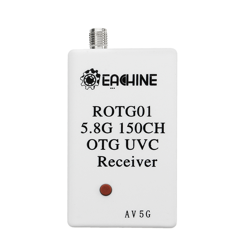 Eachine ROTG01 UVC OTG 5.8G 150CH Full Channel FPV Receiver For Android Mobile Phone Smartphone Which Support UVC OTG Only