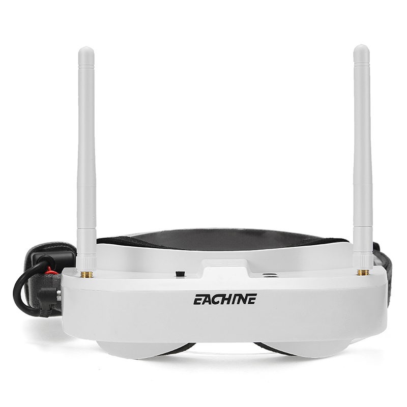 Eachine EV100 720*540 5.8G 72CH FPV Goggles With Dual Antennas - White