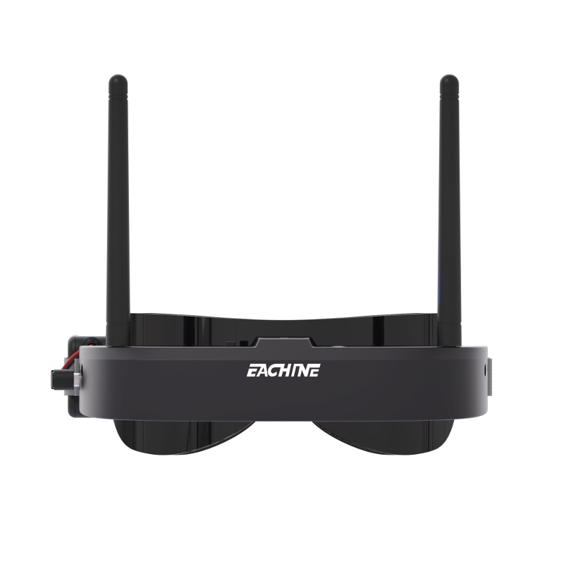 Eachine EV100 720*540 5.8G 72CH FPV Goggles With Dual Antennas - Black
