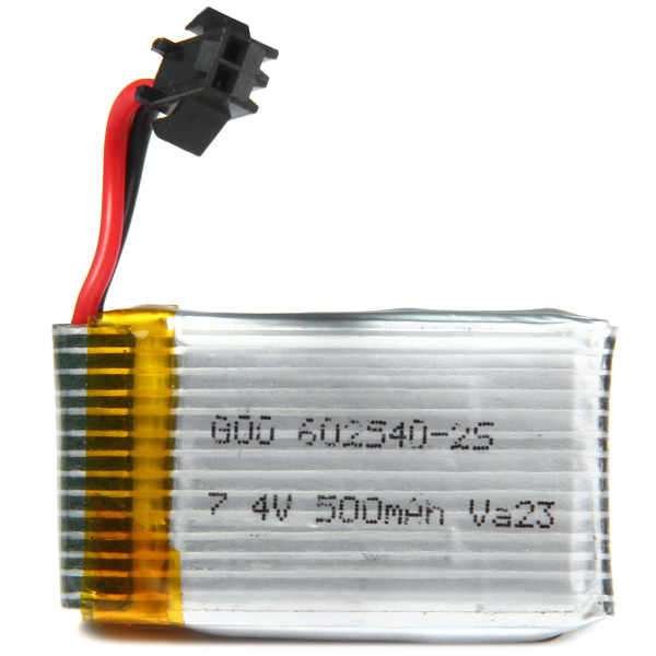 JJRC H8C H8D RC Quadcopter 7.4V 500mAh Battery