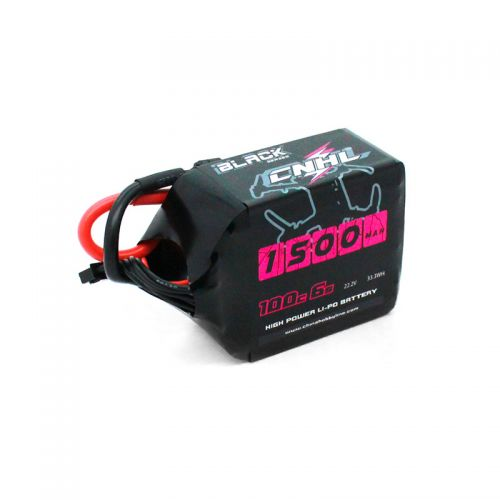 CNHL <b>BLACK SERIES 1500MAH 22.2V</b> 6S 100C LIPO BATTERY