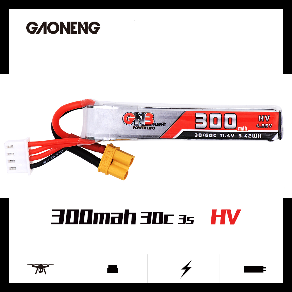GNB 3S 300Mah HV 30C/60C Battery for Sailfly-X / Toothpick