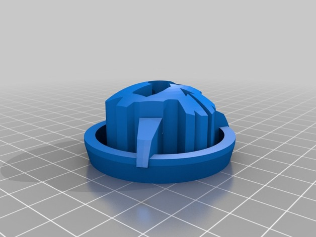 3D Printed <b>DSM Spektrum Gen2</b> RotorRiot Gimbal Protector - SNHE