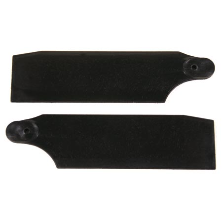 KBDD Tail Rotor, 59.6mm Black 450 size