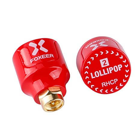 Foxeer <b>Lollipop V2</b> 5.8G Super Mini Antenna (2pcs) <b>RHCP Stubby</b> - SNHE