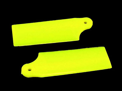 KBDD Extreme Edition for Tail Blade 130X Helicopter - Neon Yellow