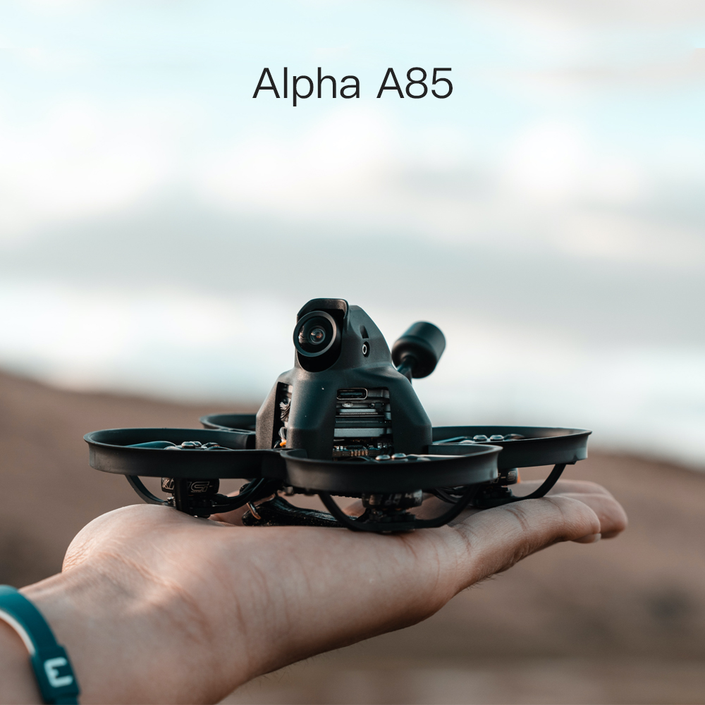 IFLIGHT ALPHA A85 HD WHOOP W/CADDX NEBULA DIGITAL HD SYSTEM - <b>NO RX - DJI REMOTE COMPATIBLE</B>