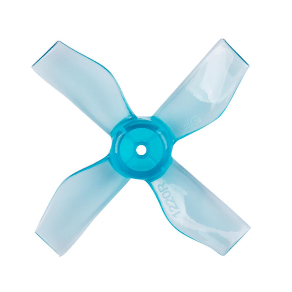 Gemfan <b>1220-4 Blue</b> 31mm Whoop Props (1mm Hub) - SNHE