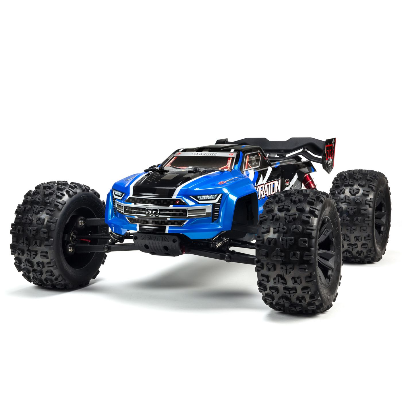 ARRMA 1/8 KRATON 6S BLX 4WD Brushless Speed Monster Truck with Spektrum RTR, Blue