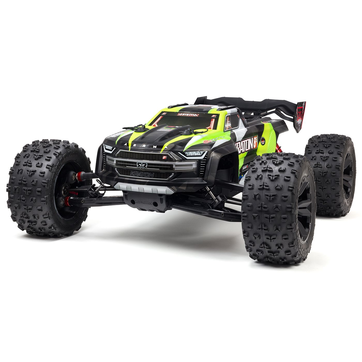 "ARRMA 1/5 KRATON 4X4 8S BLX Brushless Speed Monster Truck RTR, Green <font color=""red""><b>(PREORDER)</b></font>"