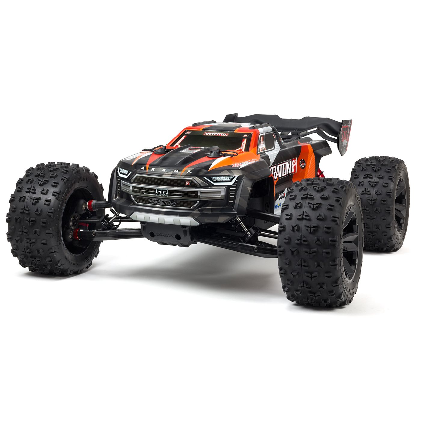 "ARRMA 1/5 KRATON 4X4 8S BLX Brushless Speed Monster Truck RTR, Orange <font color=""red""><b>(PREORDER)</b></font>"