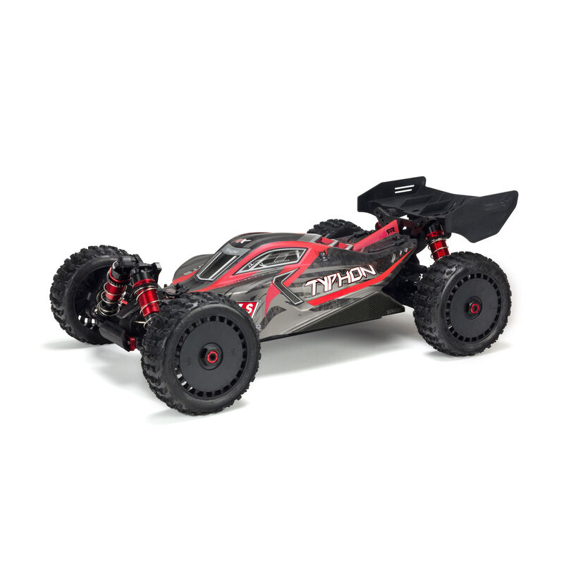 ARRMA Body Painted with Decals TYPHON 6S, Black/Red