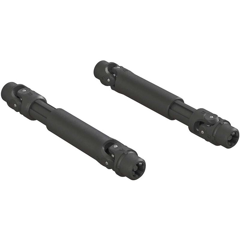ARRMA Composite Front Slider Driveshaft Set: 4x4 AR310780