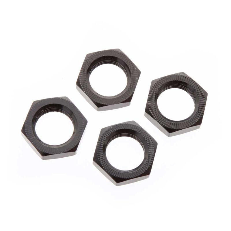 ARRMA Wheel Nut Aluminum 17mm Black (4) AR310449