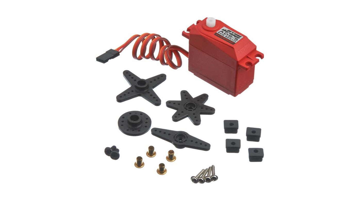 ARRMA ADS-5 V2 4.5kg Waterproof Servo, Red