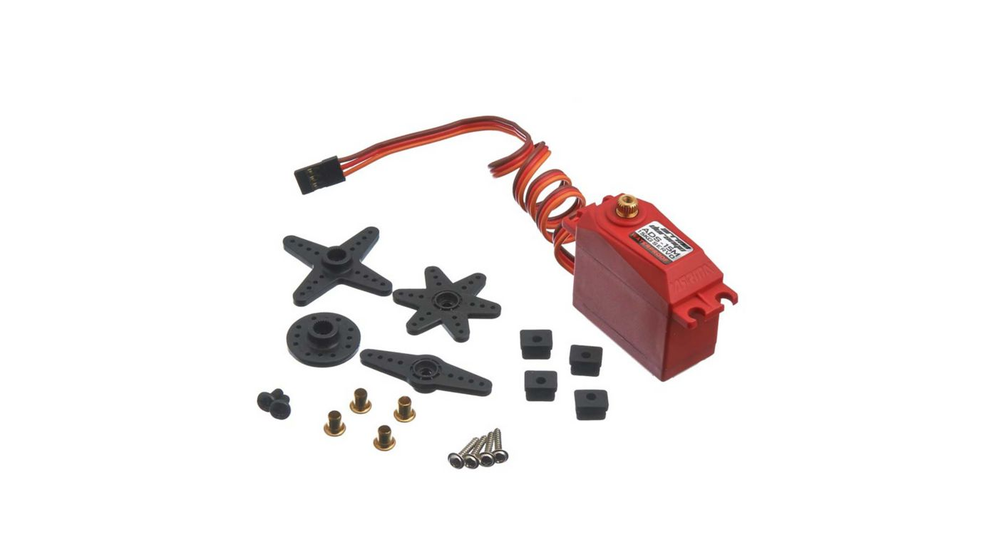 ARRMA ADS-15M V2 15kg Waterproof Servo, Red AR390139