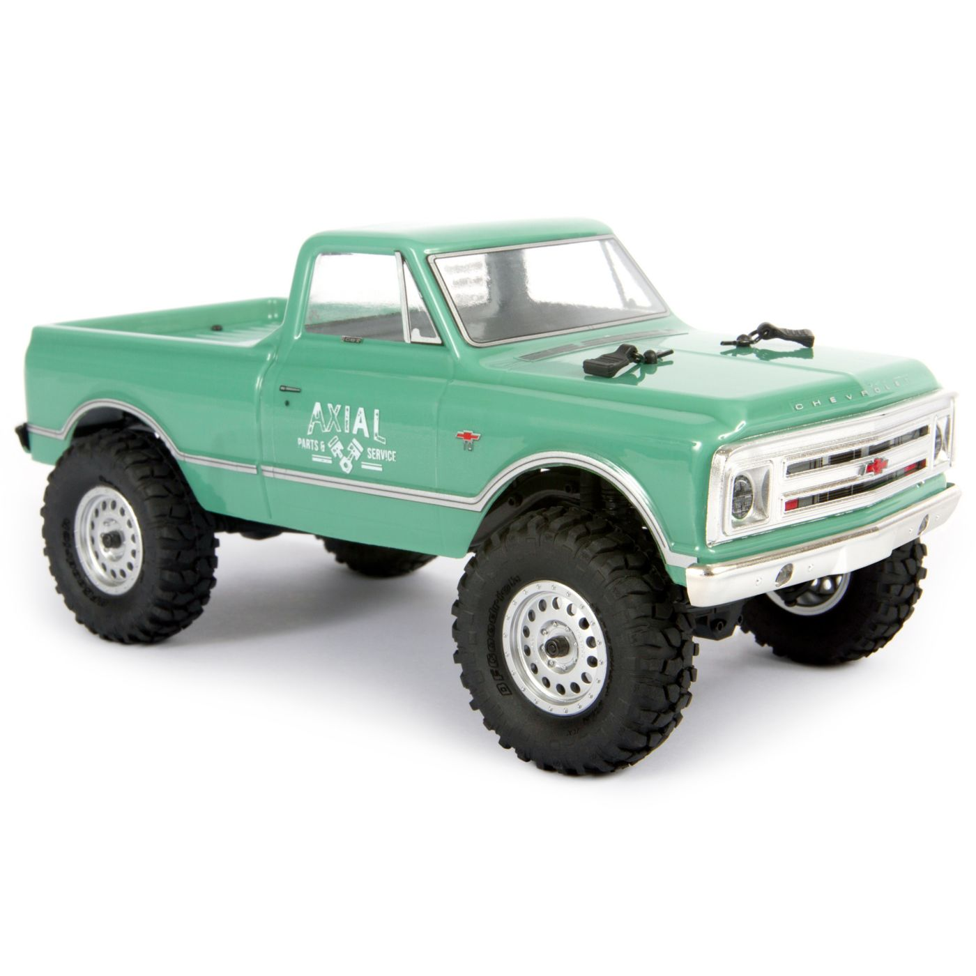 Axial Racing 1/24 SCX24 1967 Chevrolet C10 4WD Truck Brushed RTR, Green