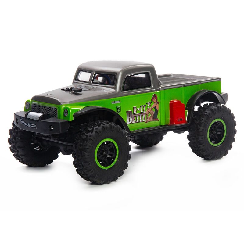 Axial Racing 1/24 SCX24 B-17 Betty Limited Edition 4WD RTR, Green