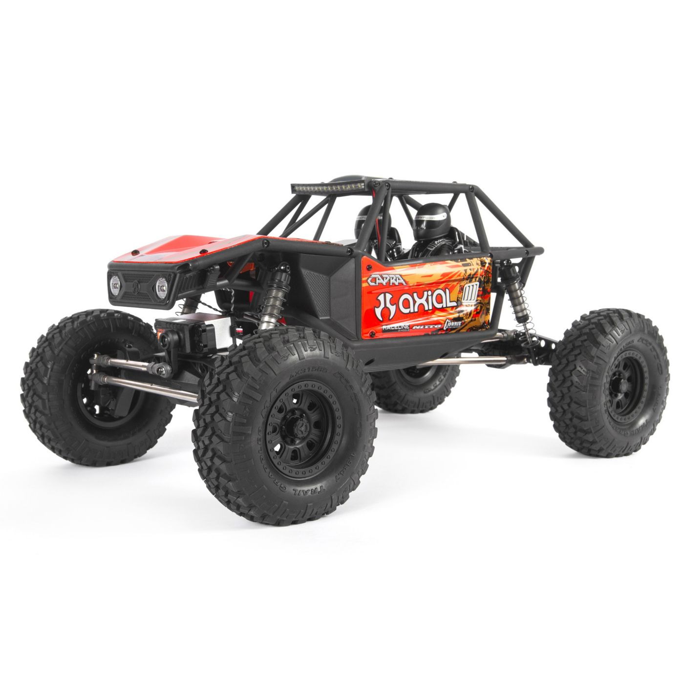 "Axial Racing 1/10 Capra 1.9 Unlimited 4WD RTR Trail Buggy, Red - <font color=""red""><b>FREE BATTERY PROMO</b></font>"