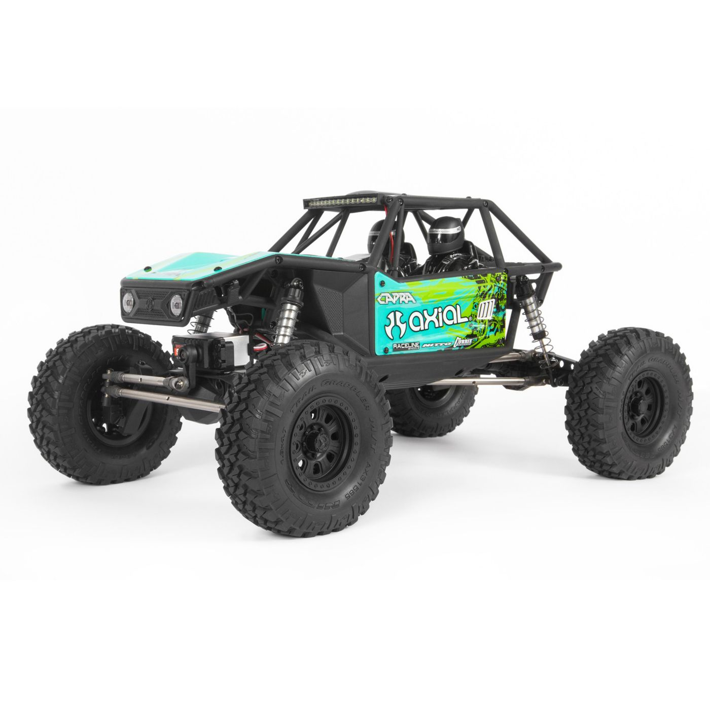 "Axial Racing 1/10 Capra 1.9 Unlimited 4WD RTR Trail Buggy, Green - <font color=""red""><b>FREE BATTERY PROMO</b></font>"
