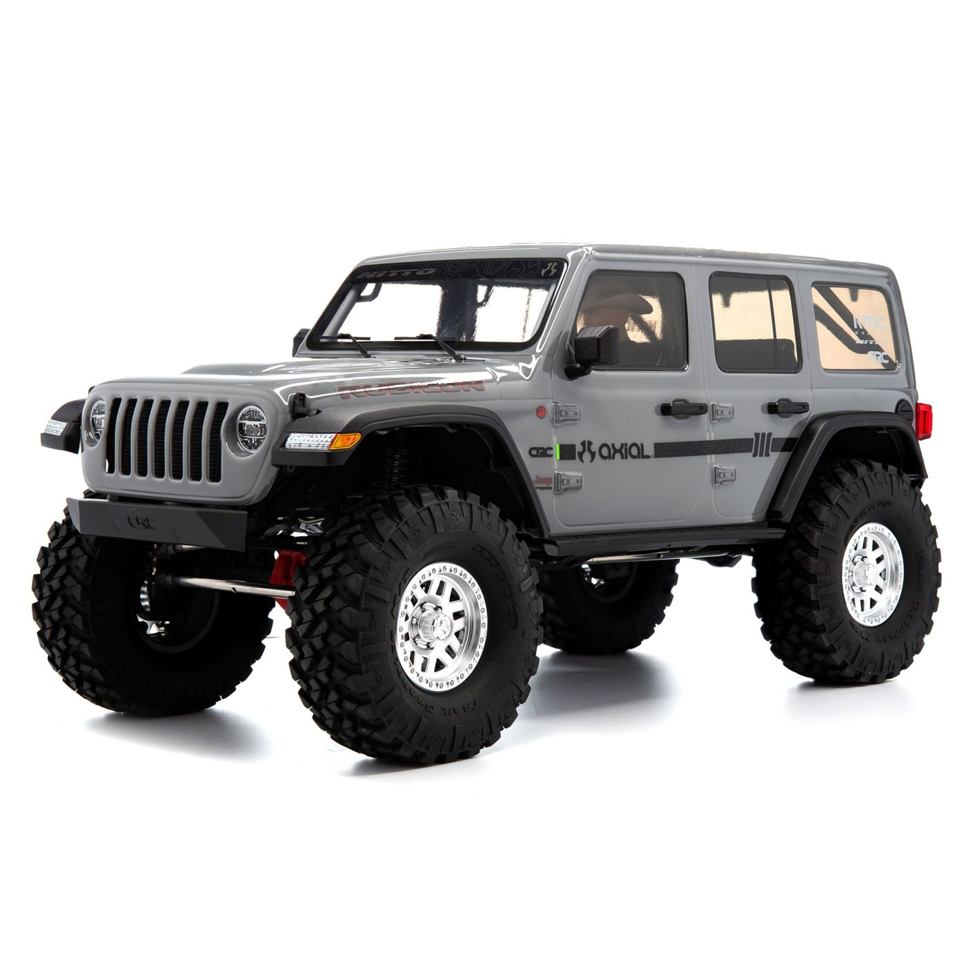 "Axial Racing 1/10 SCX10 III Jeep JLU Wrangler with Portals RTR, Gray <font color=""red""><b>(PREORDER)</b></font>"