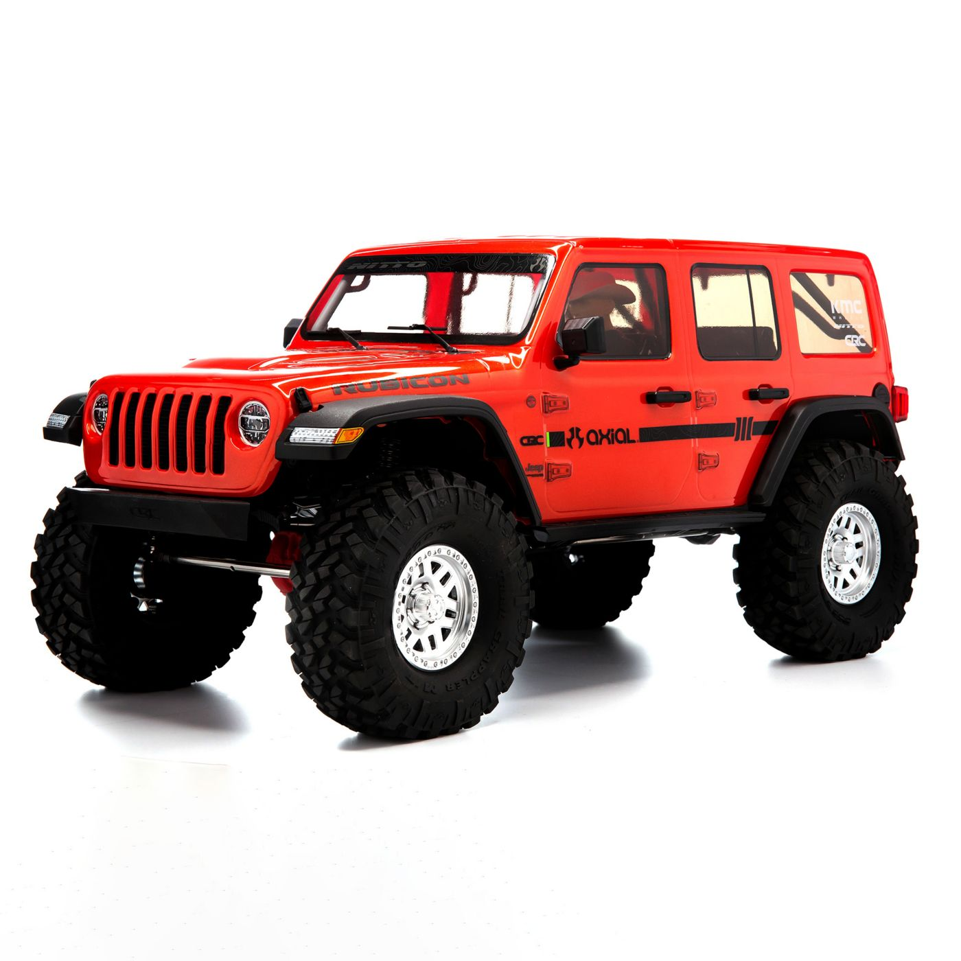 Axial Racing 1/10 SCX10 III Jeep JLU Wrangler with Portals RTR, Orange