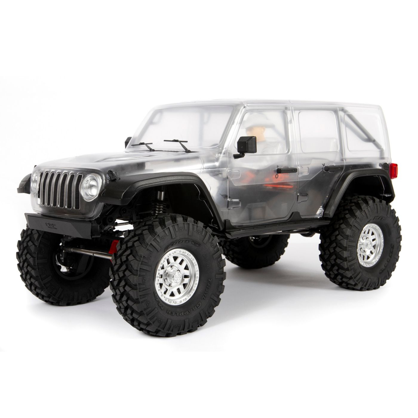 Axial Racing 1/10 SCX10 III Jeep JLU Wrangler with Portals 4WD Kit