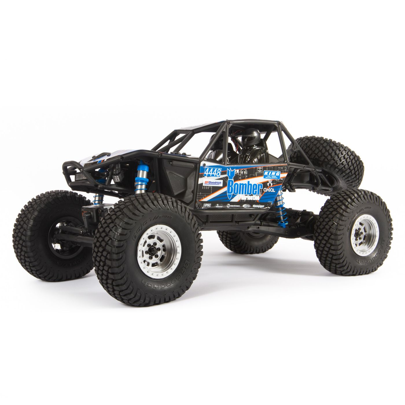 Axial Racing 1/10 RR10 Bomber 4WD Rock Racer RTR, Slawson