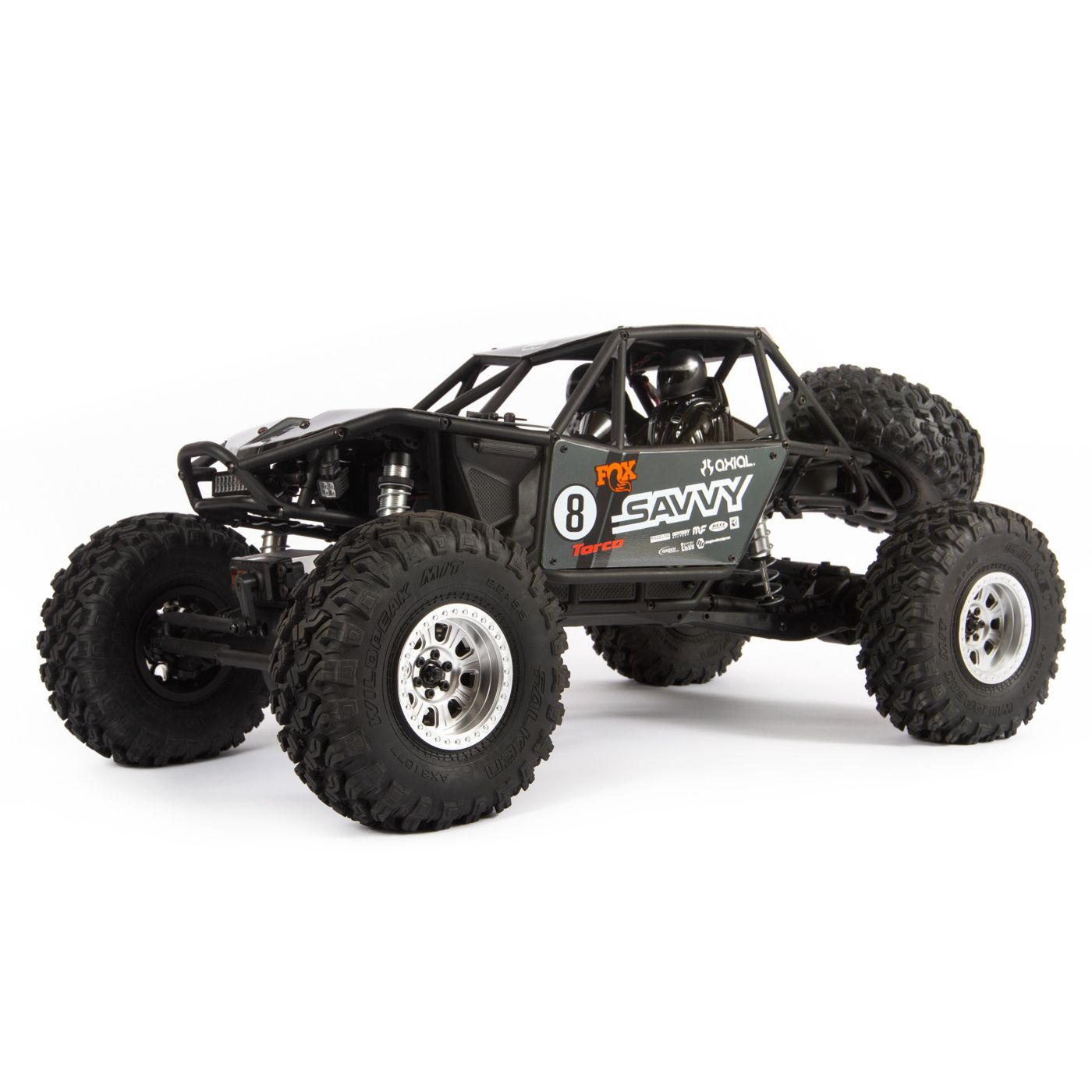 Axial Racing 1/10 RR10 Bomber 4WD Rock Racer RTR, Savvy