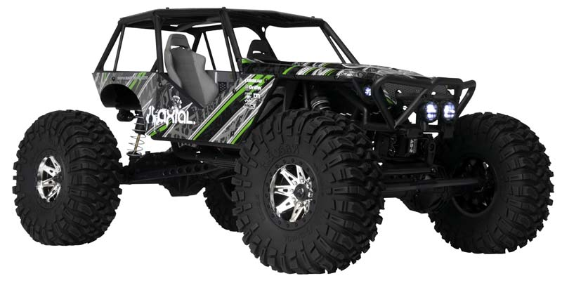"Axial 1/10 Wraith Rock Racer 4WD 2.4GHz RTR - <font color=""red""><b>FREE Battery!!!</b></font> - SNHE"