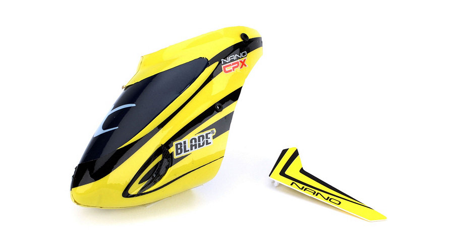 Blade Complete Yellow Canopy with Vertical Fin: nCP X