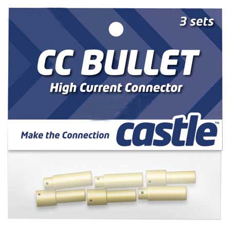 4mm High Current CC Bullet Connector Set - SNHE