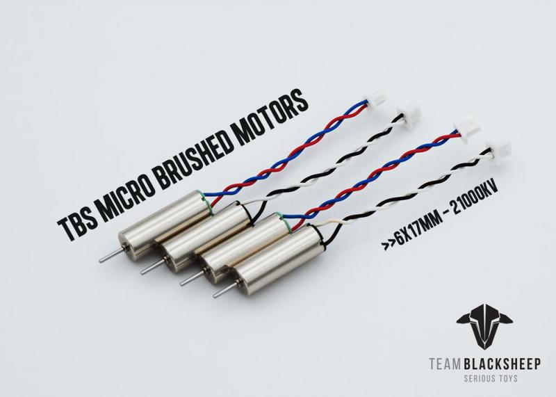 Team BlackSheep MICRO BRUSHED MOTORS (0617 / 21000KV)