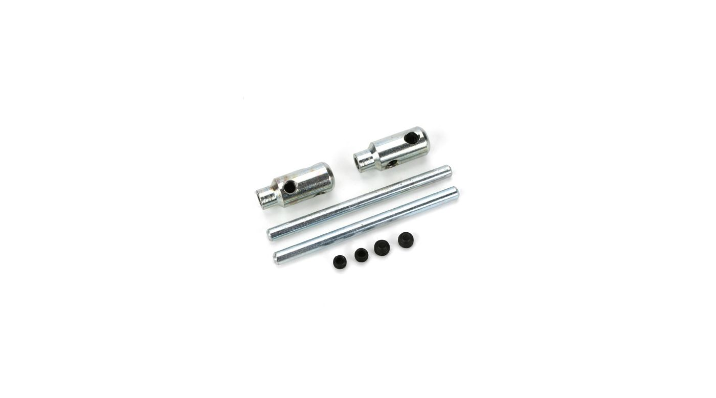 Dubro EZ Adjustable Axle, 2 x 5/32""