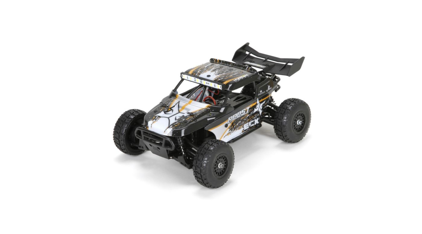 ECX 1/18 Roost 4WD Desert Buggy RTR, Black/Orange