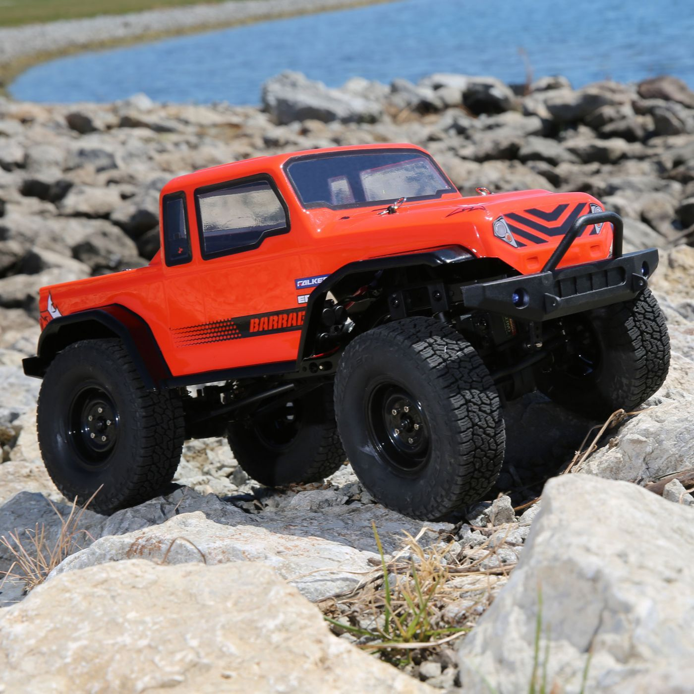 ECX 1/12 Barrage 4WD 1.9 Scaler Brushed BTD Kit - SNHE