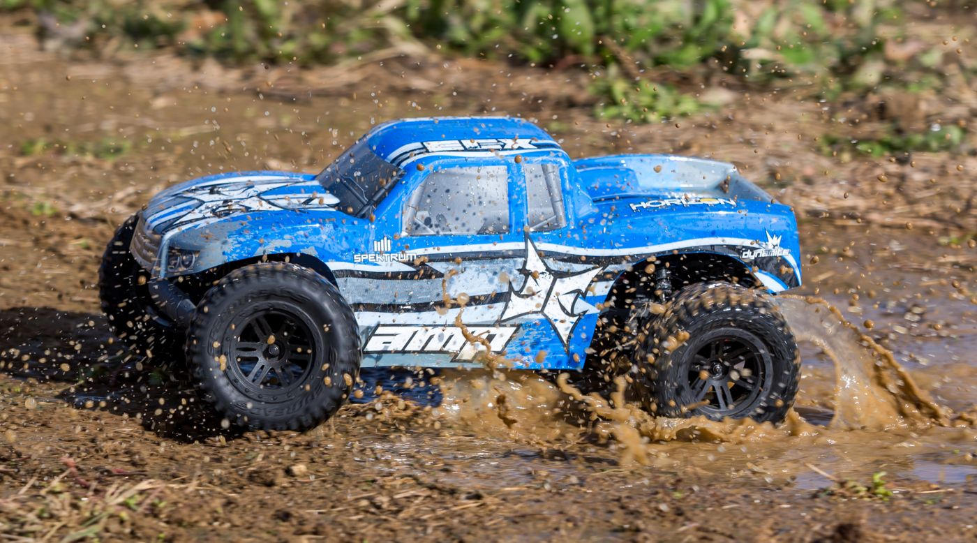 ECX 1/10 AMP MT 2WD Monster Truck: BTD Kit