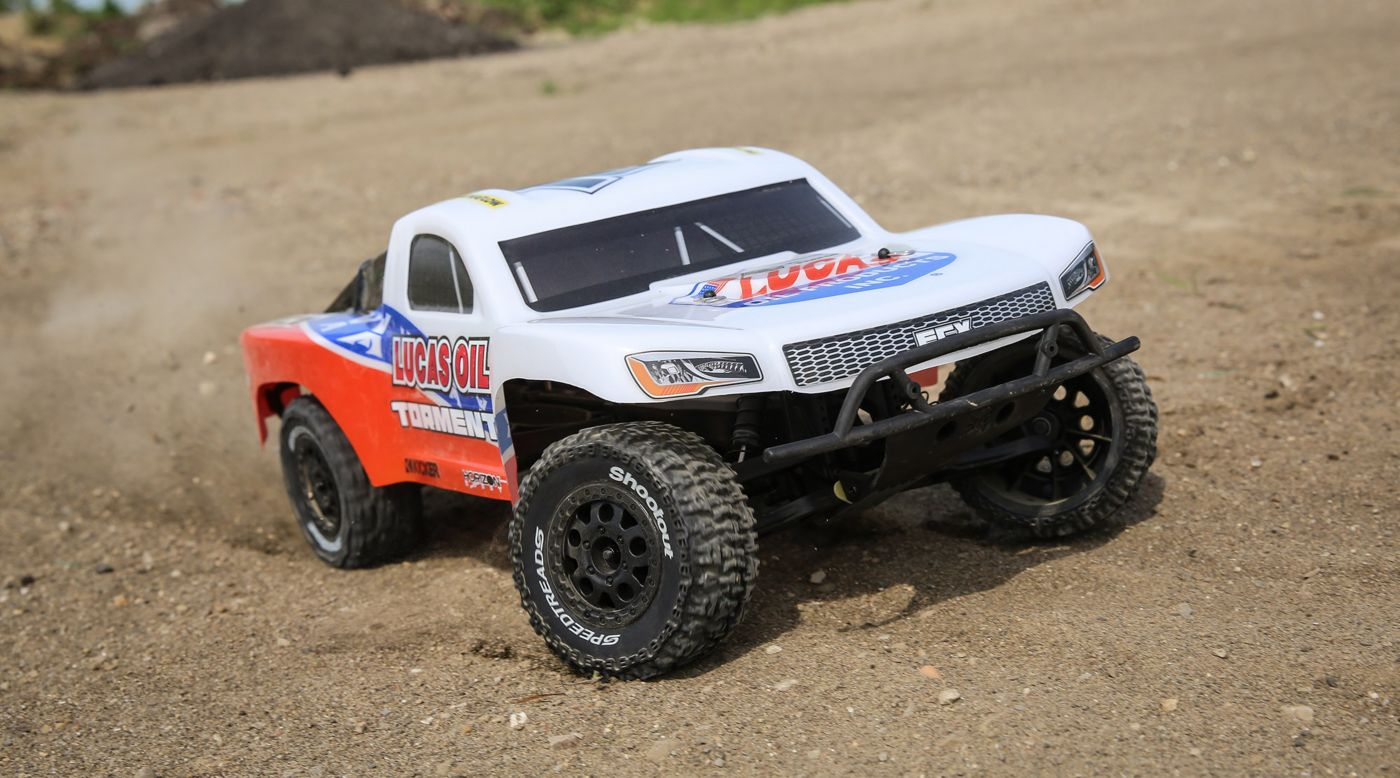 ECX 1/10 Torment 2WD SCT Brushed RTR, Lucas Oil