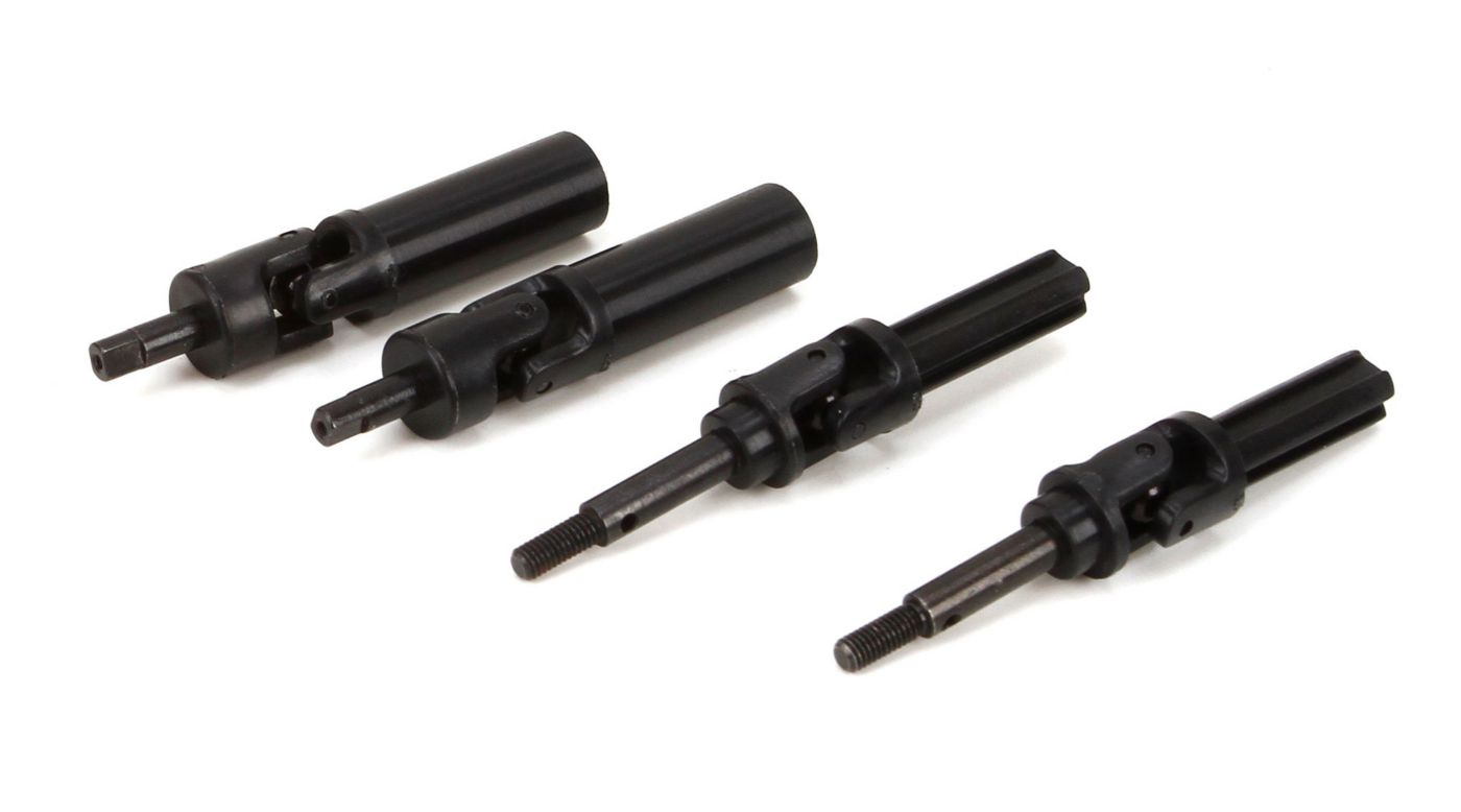 ECX Complete Driveshaft Set: 1/18 4WD All