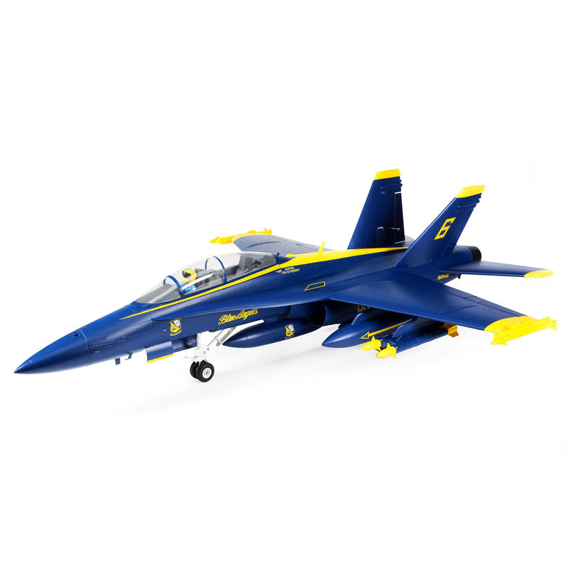 E-flite F-18 Blue Angels 80mm EDF BNF Basic