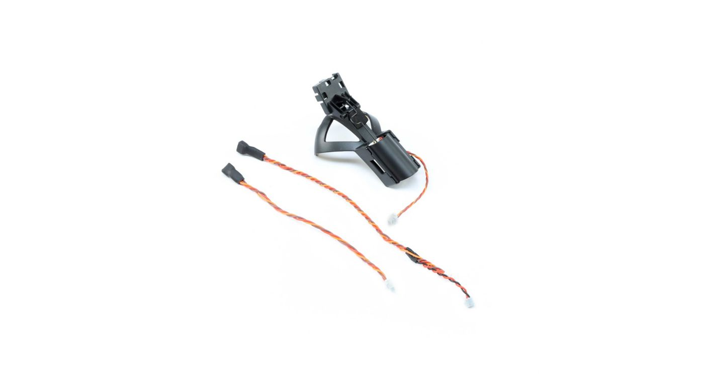 E-flite FPV Camera Mount with Servo: X-VERT