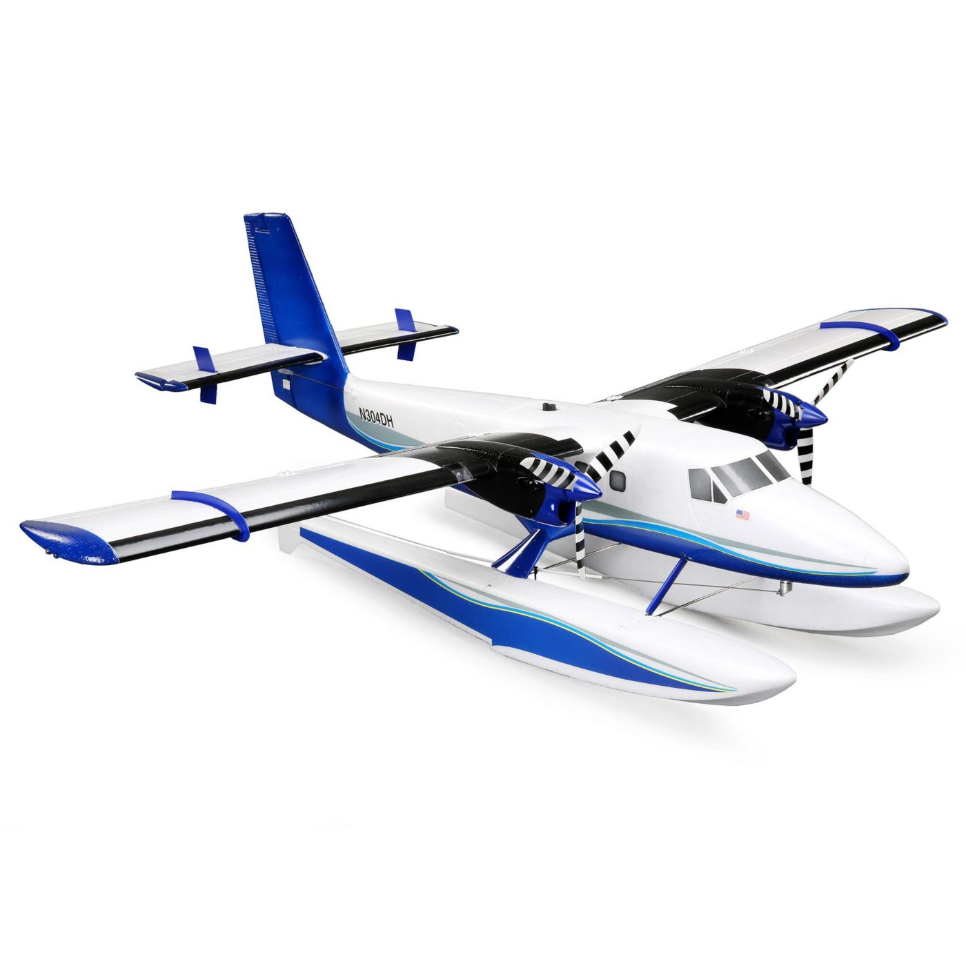 E-flite Twin Otter 1.2m PNP, includes Floats